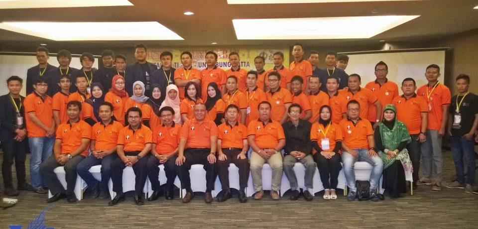 Rektor UBH Buka Mubes dan Reuni Akbar Alumni Teknik Industri UBH