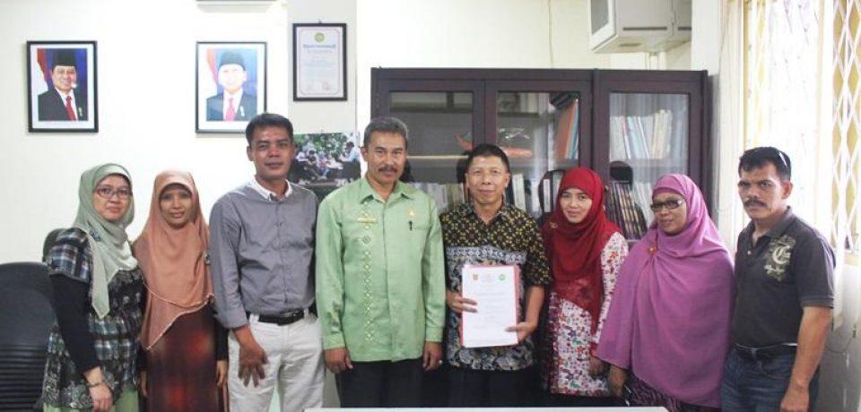 FTI UBH dan Dinas Kopersi UMKM Perindag Agam Jalin Kerjasama