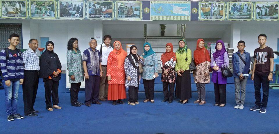 Jurusan Teknik Kimia Universitas Bung Hatta Kunjungi Ubaya dan UPN Surabaya