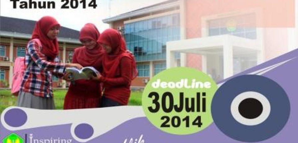 Penerimaan Mahasiswa Baru Universitas Bung Hatta Tahun 2014