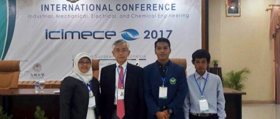 Mahasiswa Tekinik Kimia Universitas Bung Hatta Tampil Jadi Pemakalah Seminar Internasional di Solo