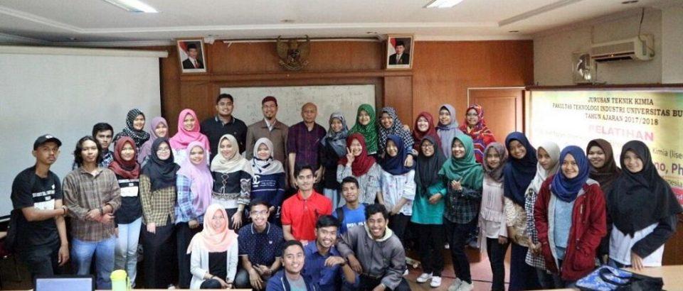 Teknik Kimia Universitas Bung Hatta Selenggarakan Pelatihan Aplikasi Sofware Perancangan Pabrik