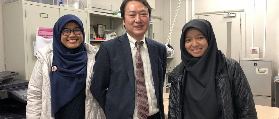 Fenny Diana Putri, Mahasiswa Student Exchange Universitas Bung Hatta Tampil Excellent di Jepang