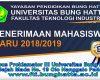 PENERIMAAN MAHASISWA BARU TA 2018/2019