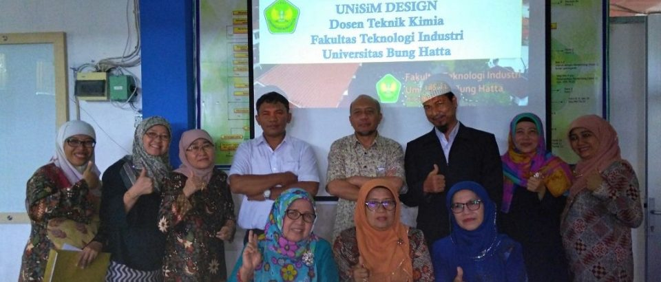 Peningkatan Kualitas Dosen, Jurusan Teknik Kimia Adakan Pelatihan Software UniSim