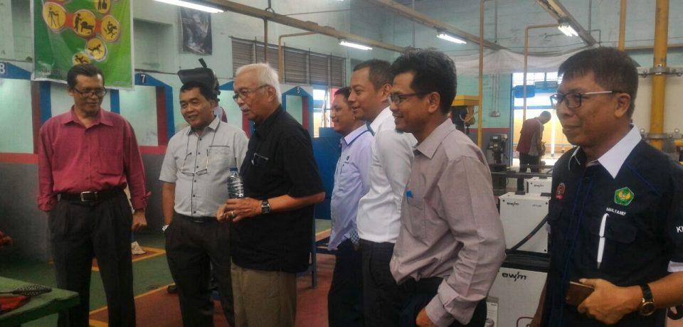 FTI Universitas Bung Hatta Jajaki Kerja Sama dengan BLK Padang