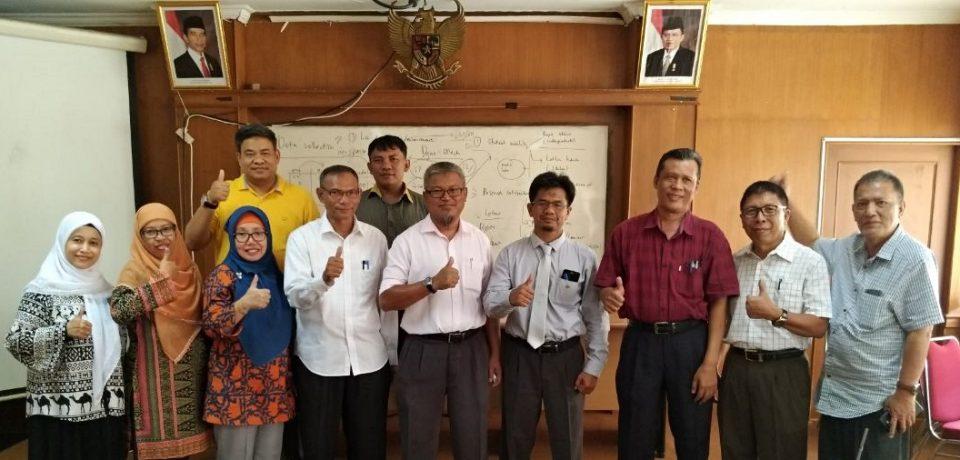 FTI Universitas Bung Hatta dan FKM Universiti Teknologi Malaysia Perkuat Kerja Sama
