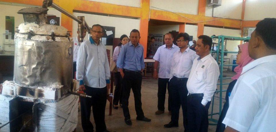 Kepala BLK Padang Kunjungi FTI Universitas Bung Hatta