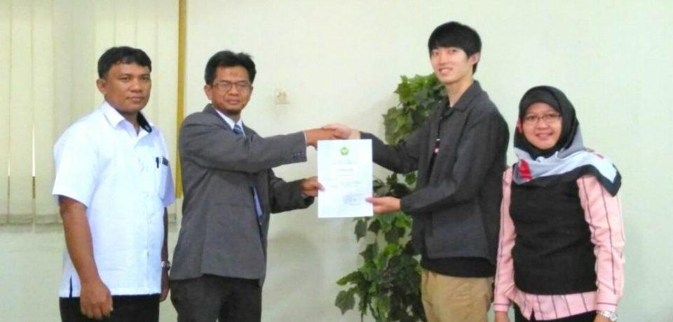 Pelepasan Mahasiswa Student Exchange Gifu University di Universitas Bung Hatta