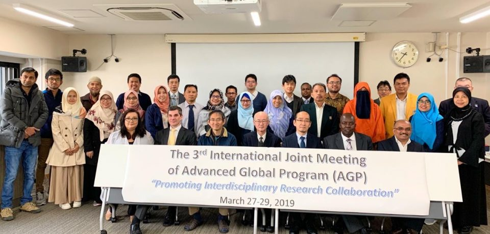 Inna Kholidasari, ST., MT., Ph.D (Dosen Teknik Industri Universitas Bung Hatta) mengikuti The 3rd International Joint Meeting of Advanced Global Program (AGP) di Gifu Univerity, Gifu, Jepang