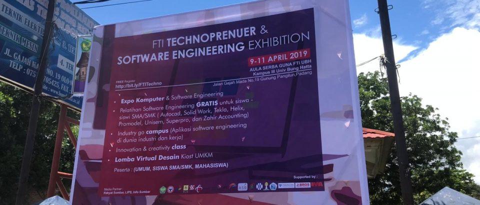 Rundown FTI Technopreur & Software Exhibition