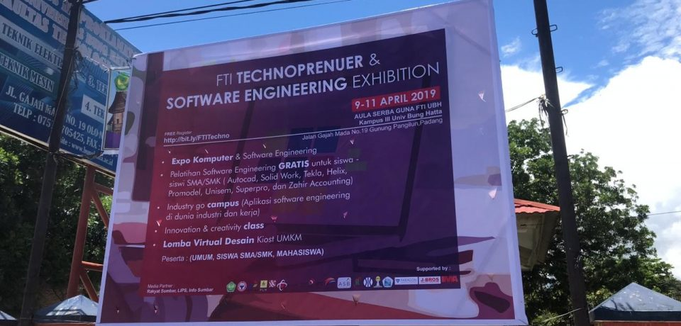 Rundown FTI Technopreur & Software Exhibition