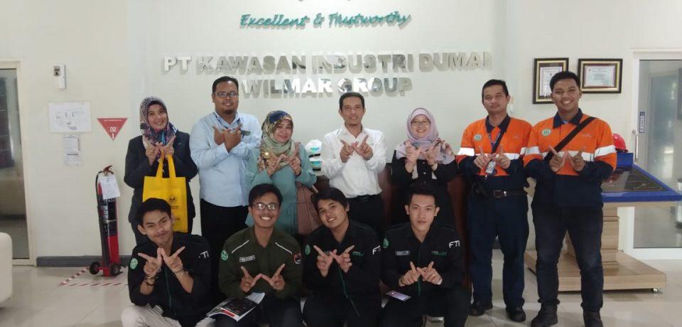 Sharing Penyusunan Kurikulum Revolusi Industri 4.0, Prodi Teknik Kimia Universitas Bung Hatta Kunjungi PT Wilmar Nabati Indonesia
