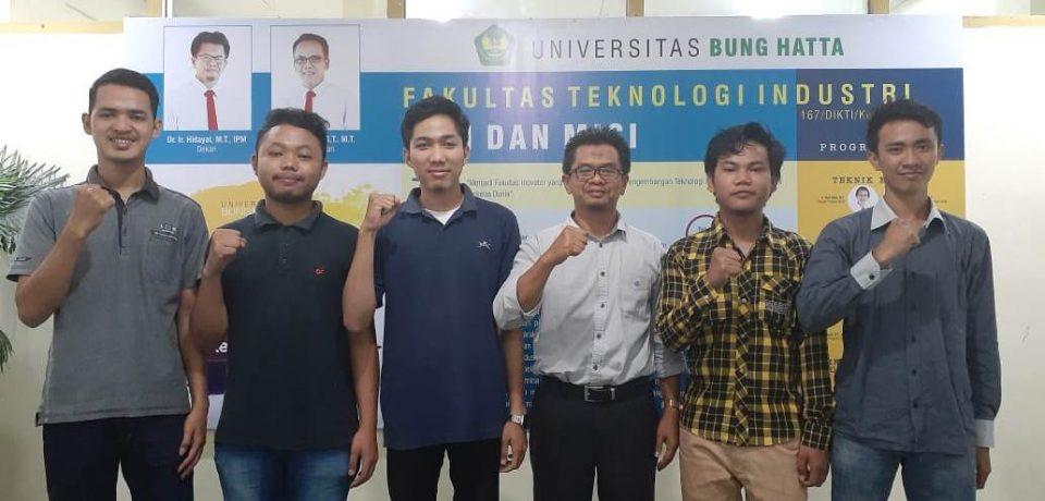Lima Mahasiswa FTI UBH Berangkat ke PT PERKAKAS REKADAYA NUSANTARA (PRN) Subang Jawa Barat