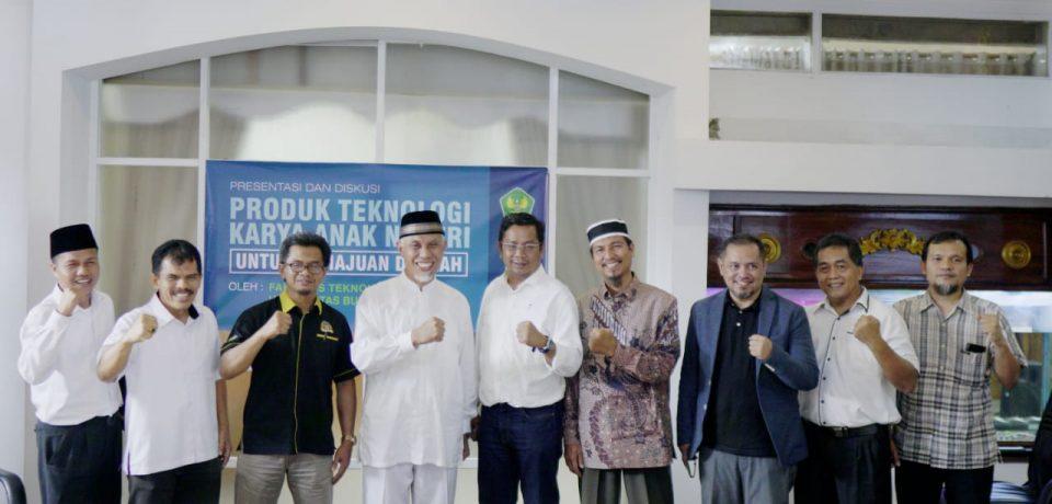 Pemko Percayakan FTI Univ. Bung Hatta Terapkan Alat Teknologi Tepat Guna di Kota Padang