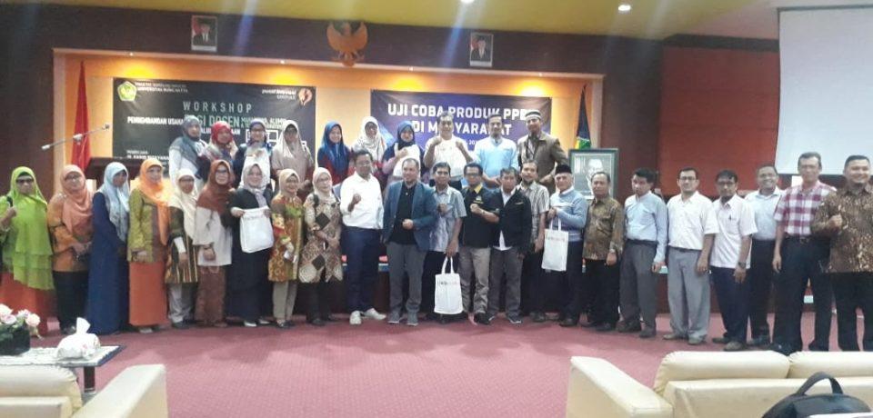 FTI Universitas Bung Hatta Gelar Workshop Pengembangan Usaha bagi Dosen dan Mahasiswa
