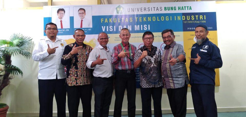 LSP Migas Dukung FTI Universitas Bung Hatta Menjadi Pusat Pelatihan dan Uji Kompetensi Sumatera Barat