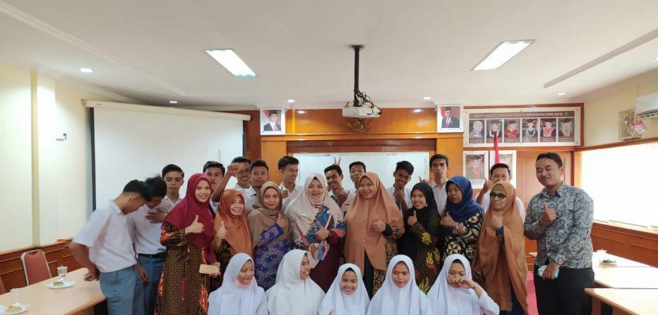 Prodi TRKJ FTI Universitas Bung Hatta Dikunjungi SMK Subulussalam Pasaman Barat