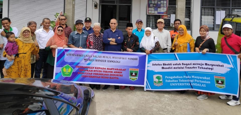 Sinergi UBH dan Unand: Inisiasi PKM ke Nagari Kinari Kec. Bukit Sundi Kab. Solok