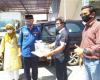 FTI Universitas Bung Hatta Bekerja Sama dengan Koperasi SMR Serahkan Bantuan Bilik Disinfektan kepada Wali Kota Padang