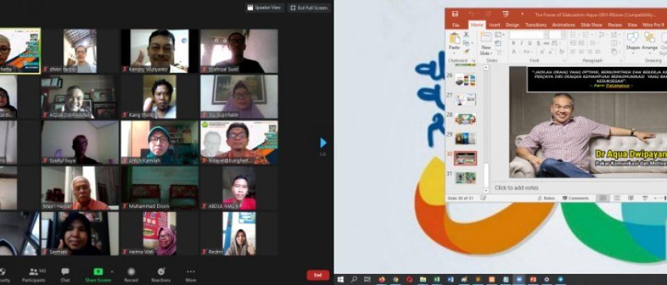 Padek.jawapos.com- Aqua Dwipayana: Komunikasi Faktor Keberhasilan Proses Pembelajaran