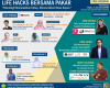Pendaftaran Webinar Life Hacks Bersama Pakar: Teknologi Memudahkan Hidup, Mencerahkan Masa Depan