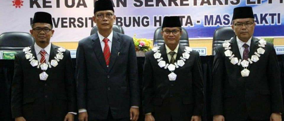 Dekan FTI Dilantik Sebagai Wakil Rektor III Universitas Bung Hatta