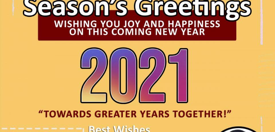 Dekan: Selamat Tahun Baru 2021, Bersama Mencapai Kejayaan FTI