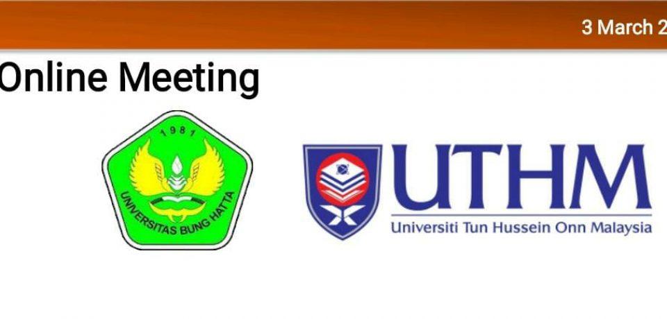 FTI Dan Kampus UTHM Malaysia Bahas Program Pertukaran Mahasiswa
