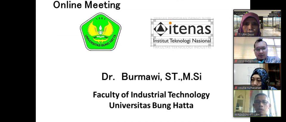 FTI Bahas Peluang MBKM Dengan ITENAS Bandung