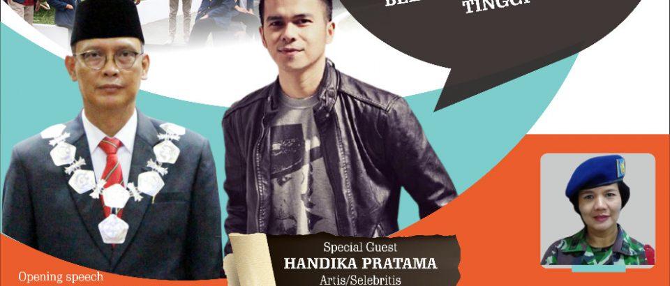 Bung Hatta Goes To School Hadirkan Artis Handika Pratama